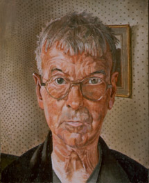Spencer's 'Self Portrait' (1959) painted the year he died