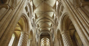 Stone vaulting in the Cathedral