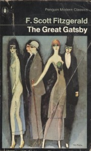 The Great Gatsby, 1973 Penguin Modern Classics Edition, detail from Montparno's Blues by Kees Van Dongen