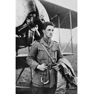Albert Ball - recipient of the Victoria Cross and the first pilot to become a British popular hero, died aged 21 in 1917
