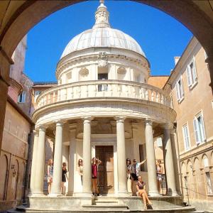 Rome, Roma, Tempietto, Bramante, architecture, monastery