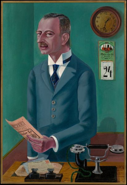Otto Dix, Businessman