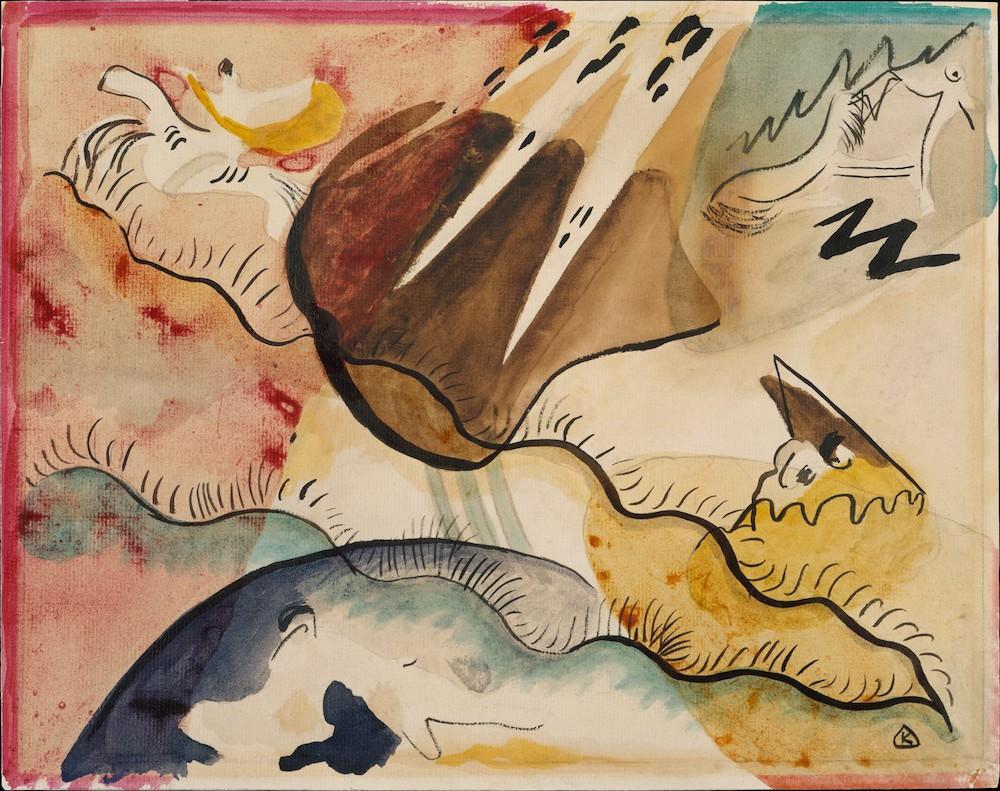 Kandinsky, Rain Landscape