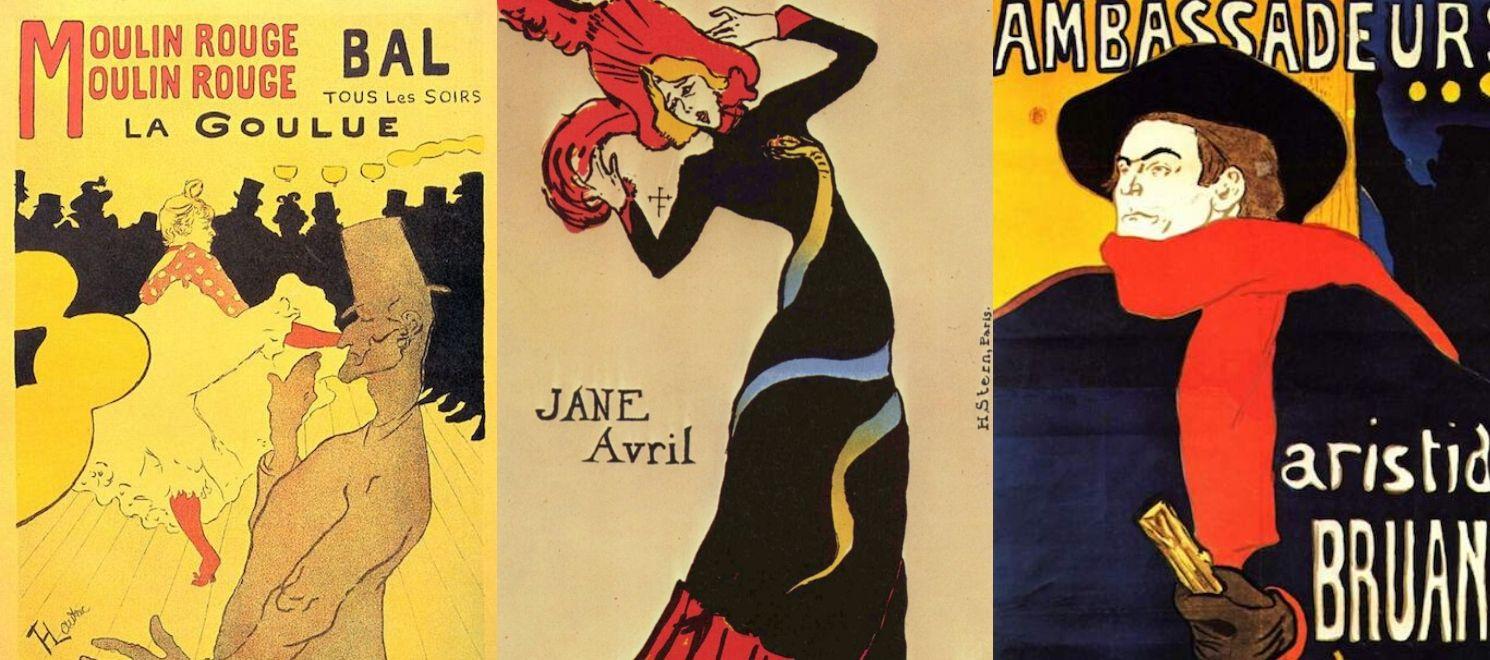 Toulouse Lautrec posters